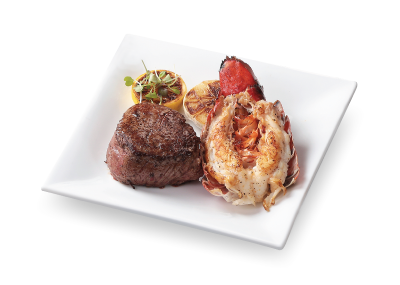 USDA FILET MIGNON AND GRILLED LOBSTER TAIL